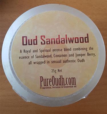 Oud Sandalwood Bakhoor
